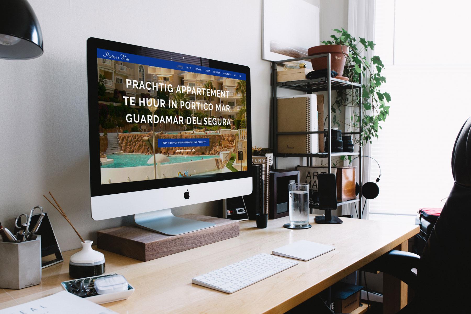 website voor porticomar